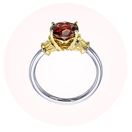 Vintage Custom Made Gemstone Ring