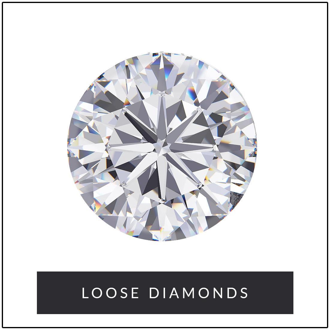 Round Cut Loose Diamonds