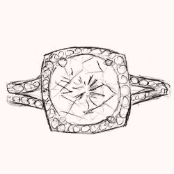 Custom Engagement Ring Process at Shira Diamonds Dallas