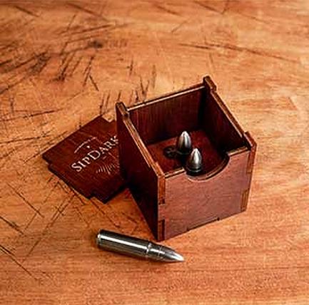 SipDark Whiskey Bullets