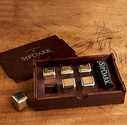 SipDark Whiskey Stones