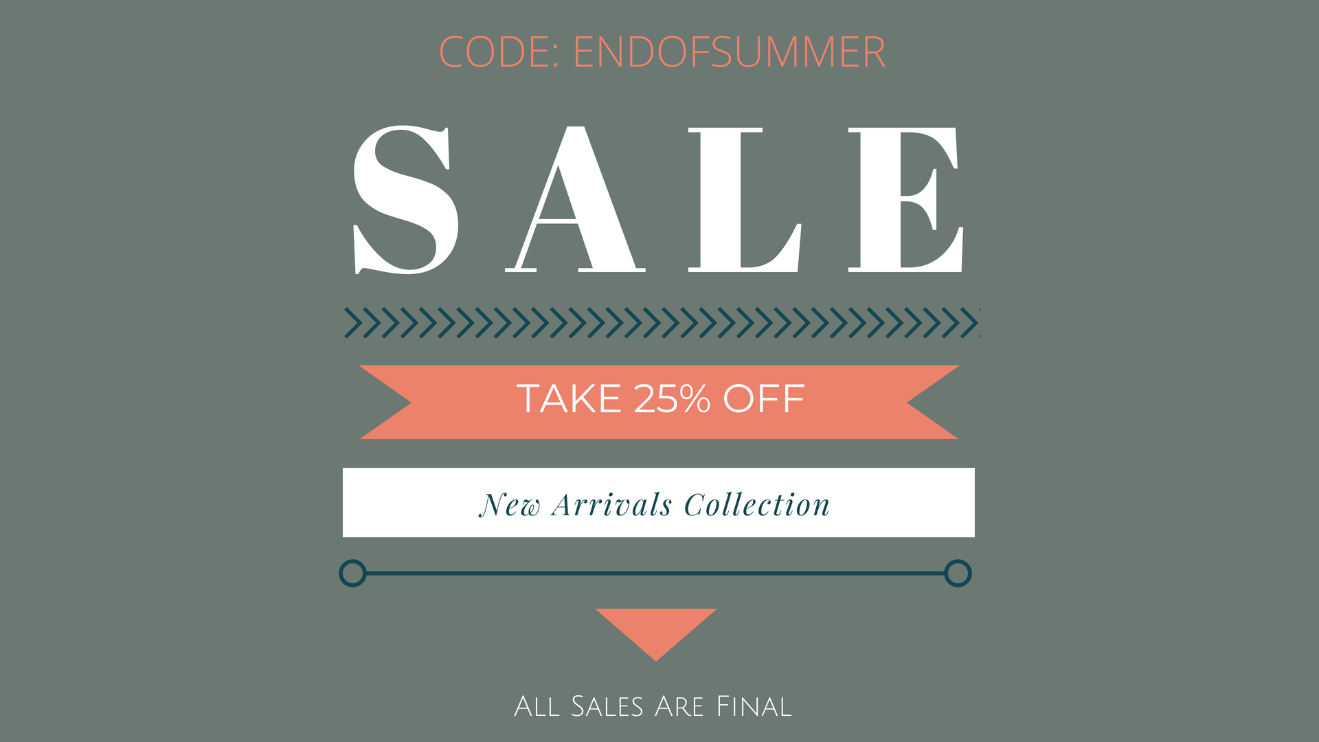 TAKE 25% OFF NEW ARRIVALS UNTIL 07/18/2018
