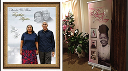 Photo Enlargements & Memorial Banner Stands