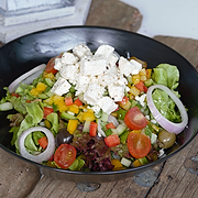 Greek Salad in Surf Hosue Patong and Kata Beach