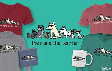 The More The Terrier Teddy the Dog Pick of the Litter