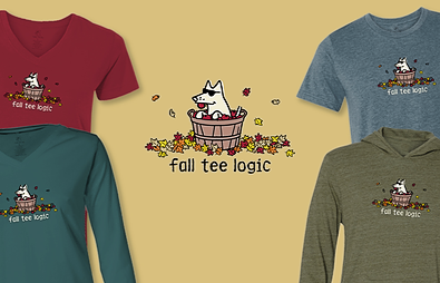 Fall Tee Logic Teddy the Dog Pick of the Litter