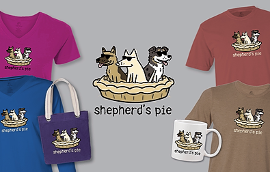 Shepherd's Pie Teddy the Dog Pick of the Litter