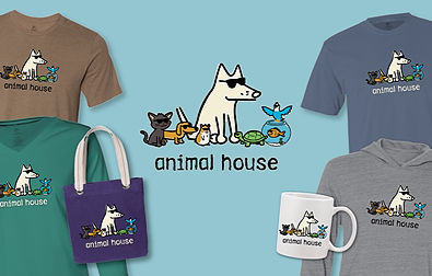 Animal House T-Shirts Teddy the Dog Pick of the Litter