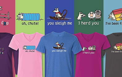 Dog Agility and Dog Sports T-Shirts Teddy the Dog Pick of the Litter