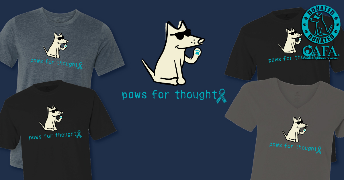 Paws For Thought-Get Teal