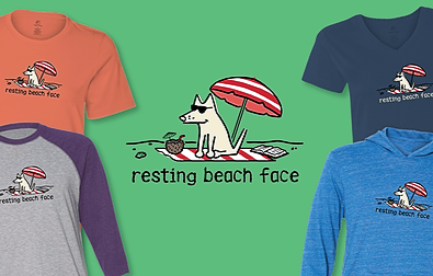 Resting Beach Face Teddy the Dog Pick of the Litter