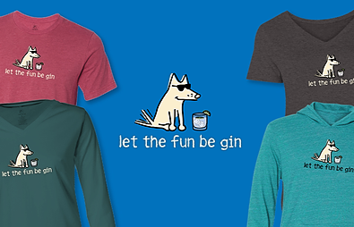 Let The Fun Be Gin Teddy the Dog Pick of the Litter