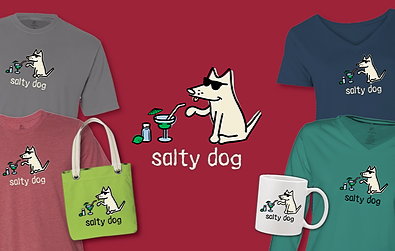 Salty Dog T-Shirts Teddy the Dog Pick of the Litter