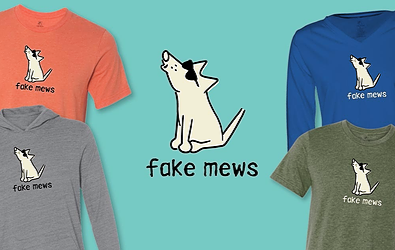 Fake Mews News T-Shirts Teddy the Dog Pick of the Litter