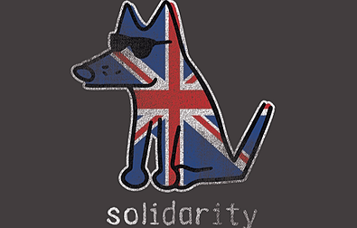 Solidarity Teddy the Dog Pick of the Litter