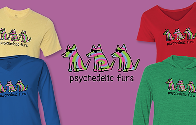 Psychedelic Furs Teddy the Dog Pick of the Litter