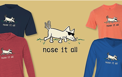 Nose It All T-Shirts Teddy the Dog Pick of the Litter