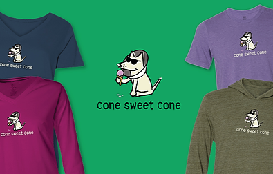 Cone Sweet Cone Teddy the Dog Pick of the Litter
