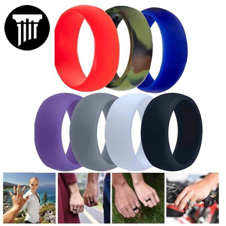 7 Pack of Silicone Rings