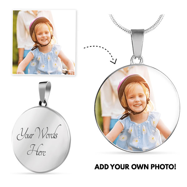 Personalized Necklace with Engraving