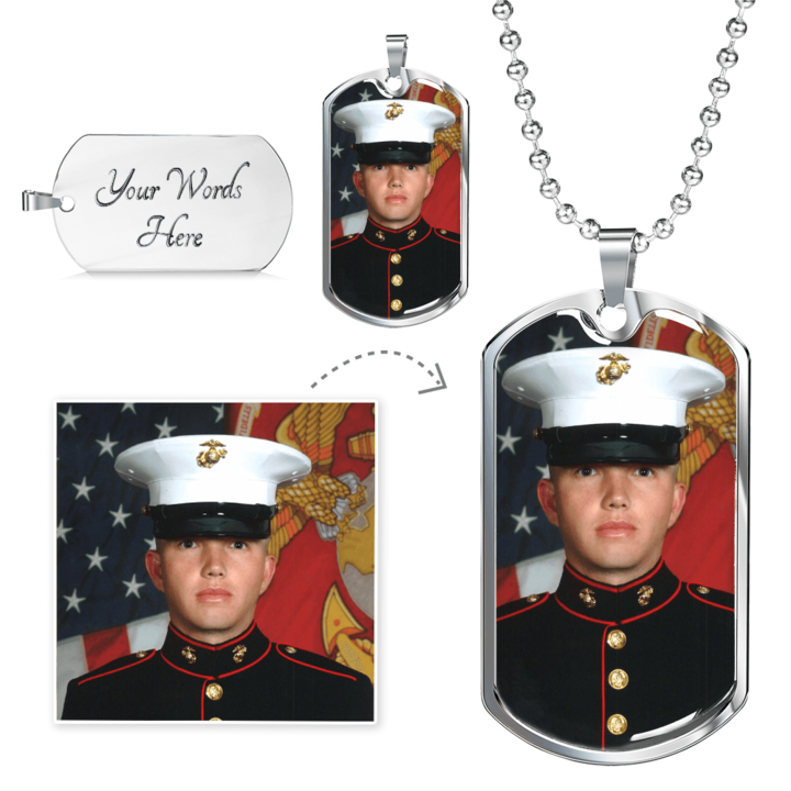 Custom Dog Tag with Engraving