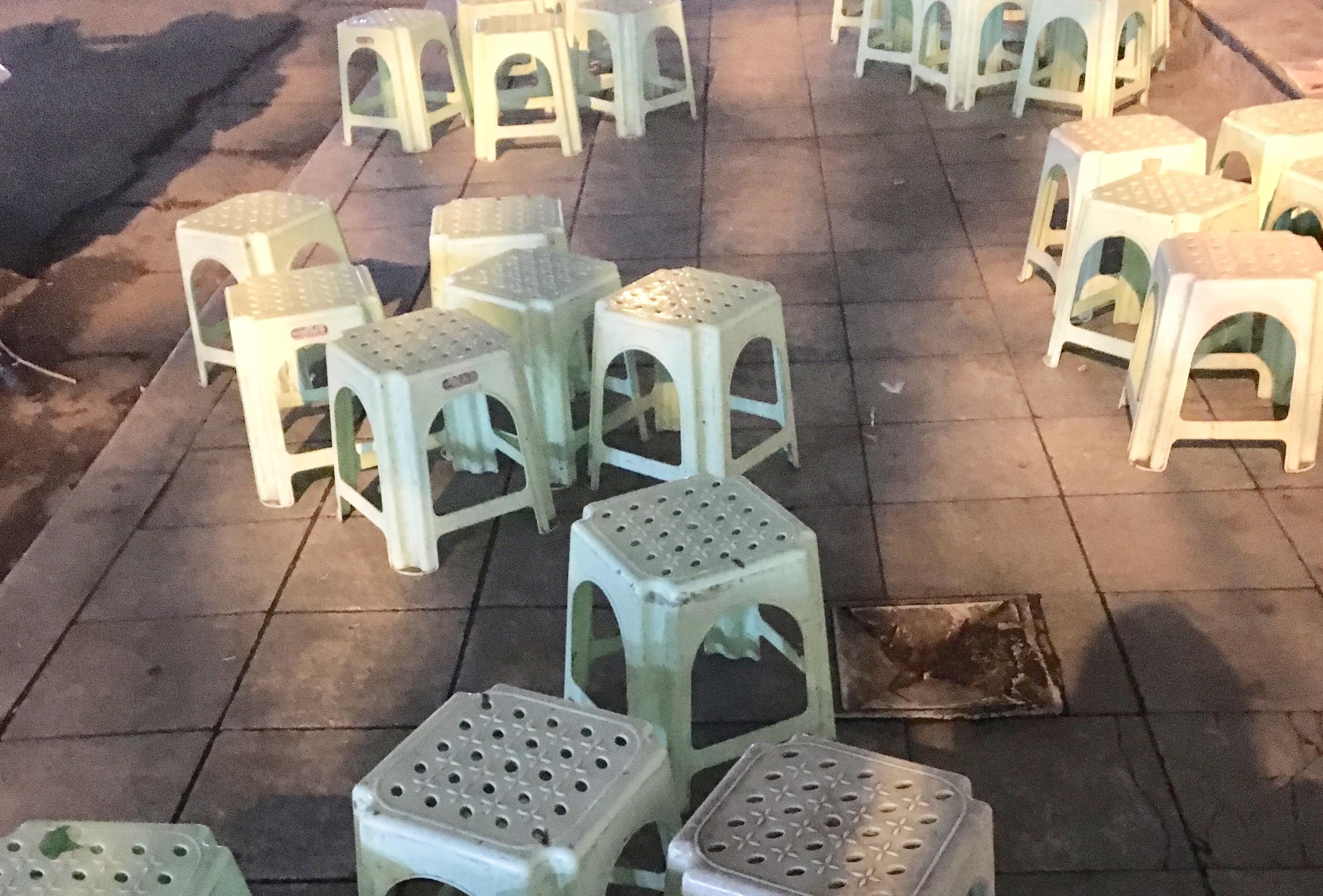 Plastic stools Vietnam