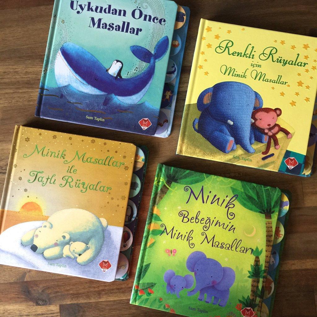 0 yaş bebek kitapları