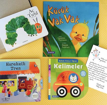 1-2 Yaş Bebek Kitapları