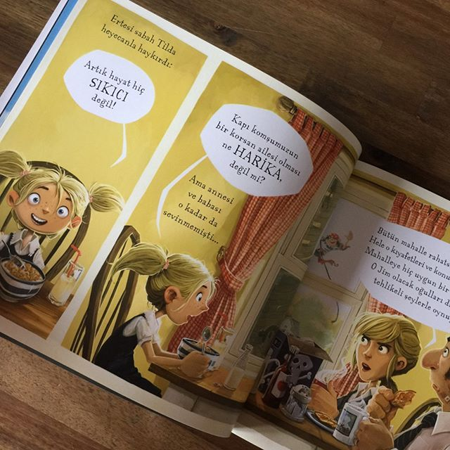 Kapı Komşumuz Korsanlar - 4 yaş - 5 yaş - hikaye -kitabı