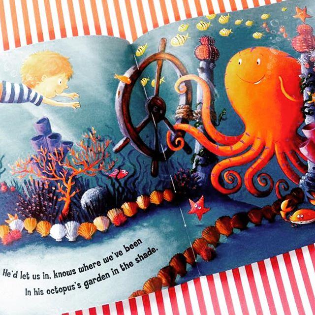 Octopus's Garden (cd'li ingilizce çocuk kitabı)