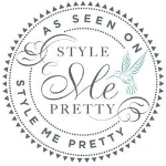 Ritzy Rose on Style Me Pretty