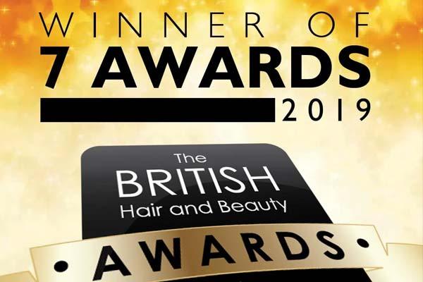 British Hair & Beauty Awards 2019