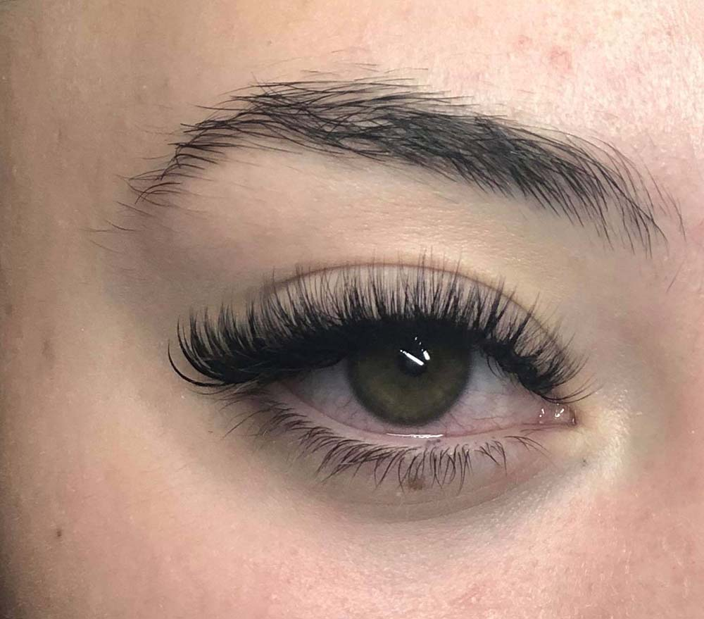 Lash extensions from Becci at The Boutik