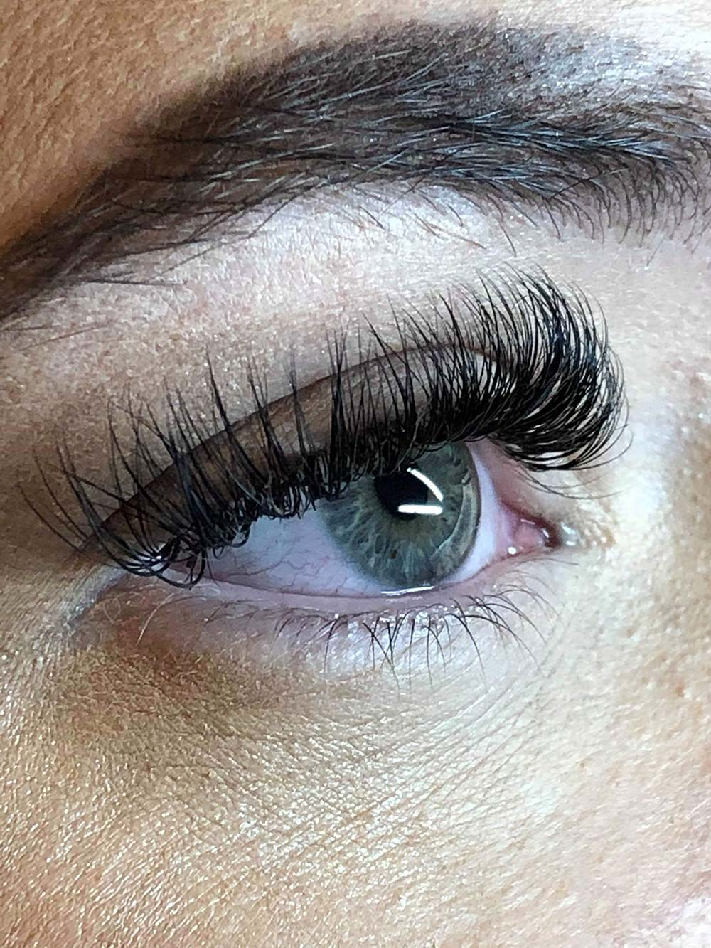 Lashes and lash extensions