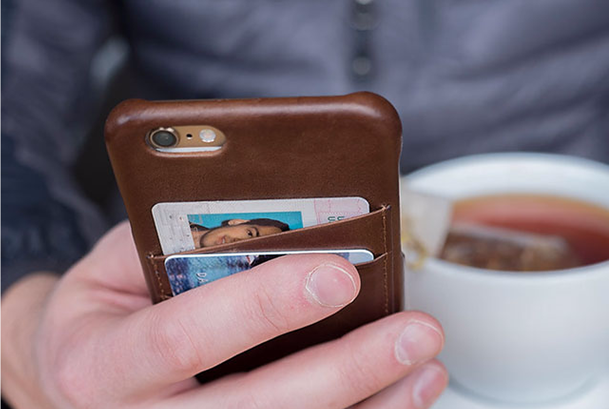 iPhone Case with built in pockets