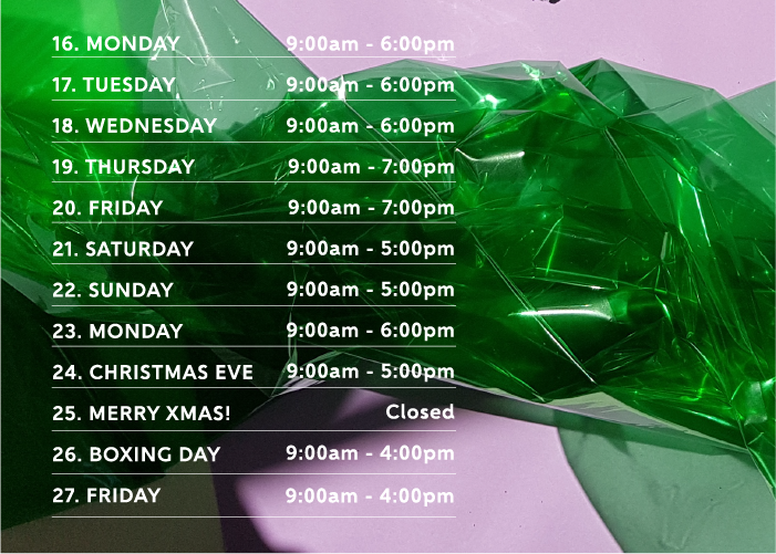 View Opening Hours