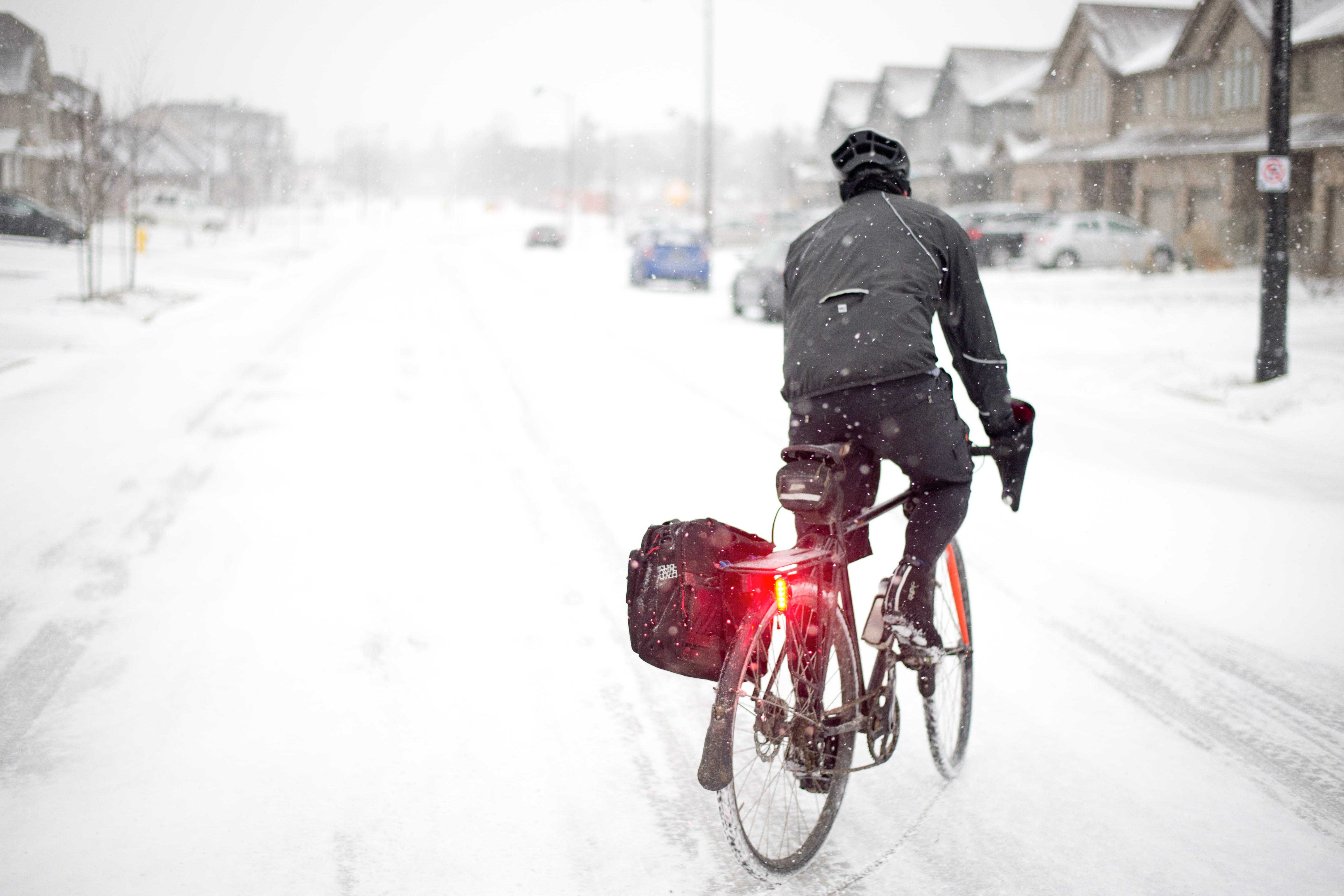 Bike to work - Arrival