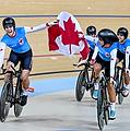 Two Wheel Gear Ambassador - Georgia Simmerling Winning Bronze Medal