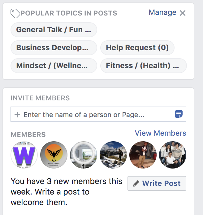 Michigan Mastermind 2020 Club Facebook Page