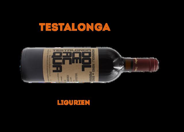 Testalonga ist ein ligurisches Weingut, dessen Weine es bei vino nudo gibt