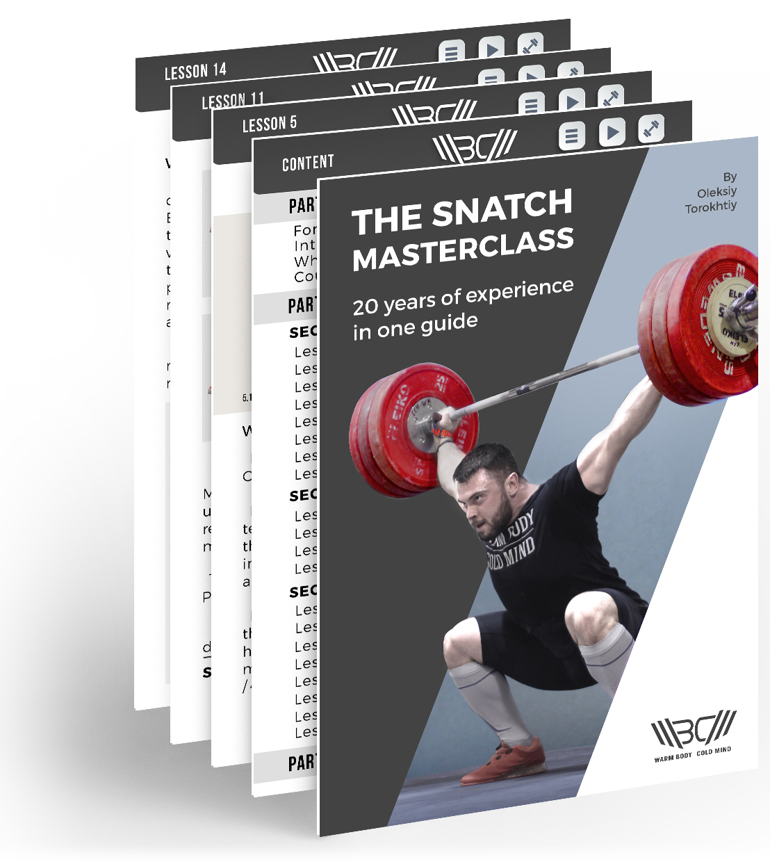 snatch olympic weightlifting masterclass technique simple torokhtiy lifting program programs step individuals broken learning course complete lessons provide