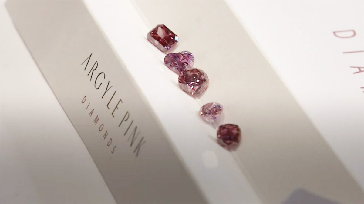 Argyle Pink Diamond Signature Stones - Australian Diamond Network