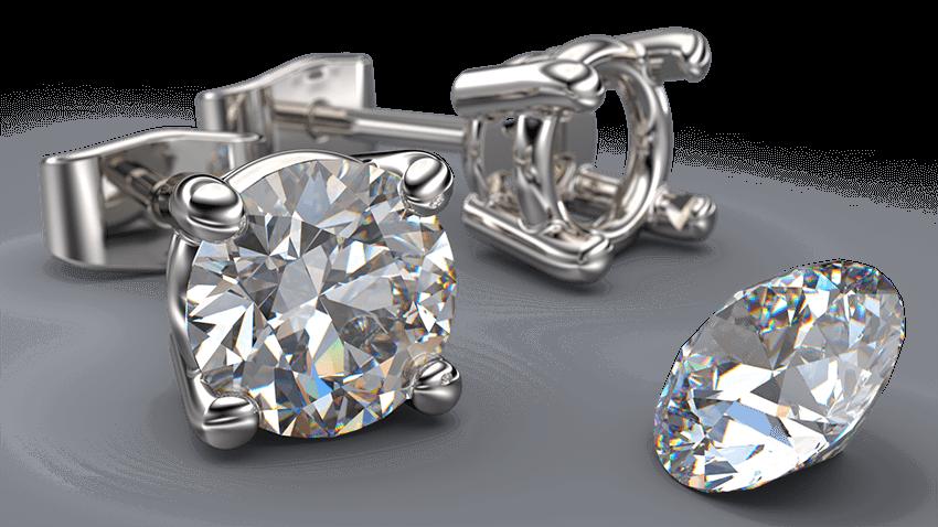 4 Claw Diamond Studs | Australian Diamond Network