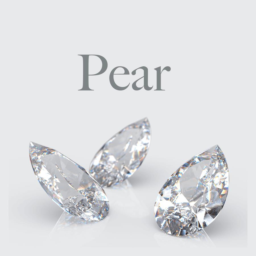 Lab Grown Pear Shape Diamonds from Australian Diamond Network