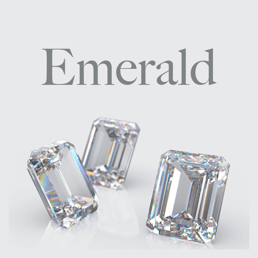 Lab Grown Emerald Cut Diamonds from Australian Diamond Network