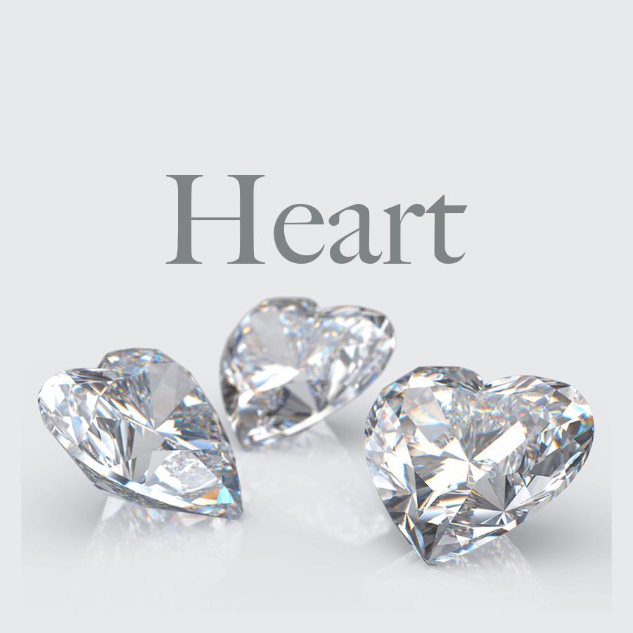 Lab Grown Heart Shape Diamonds from Australian Diamond Network