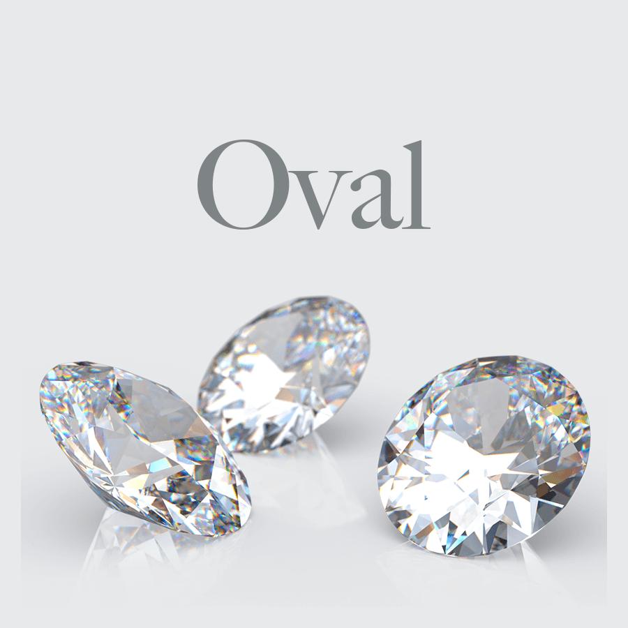 Lab Grown Oval Shape Diamonds from Australian Diamond Network