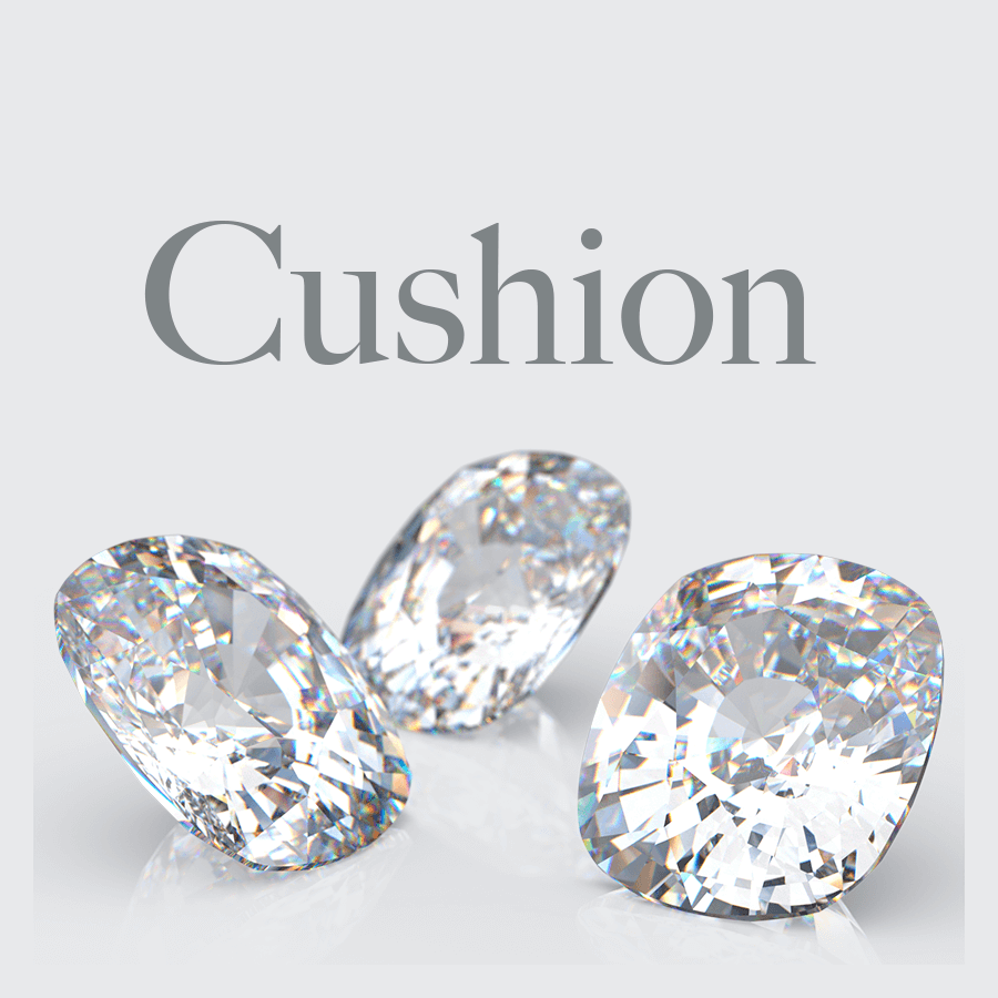 Lab Grown Cushion Cut Diamonds from Australian Diamond Network