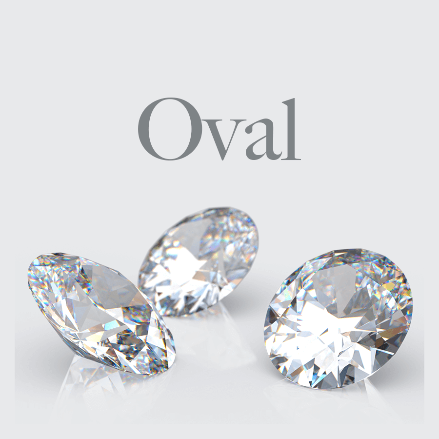 Lab Grown Oval Shape Diamonds from Australian Diamond Network