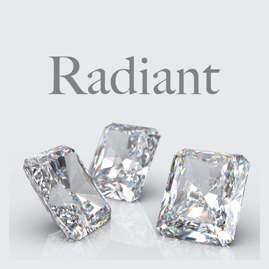 Lab Grown Radiant Shape Diamonds from Australian Diamond Network
